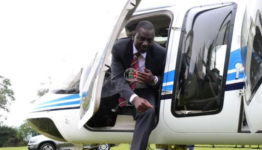 Exclusive: A Look Inside Dp William Ruto Expensive Chopper