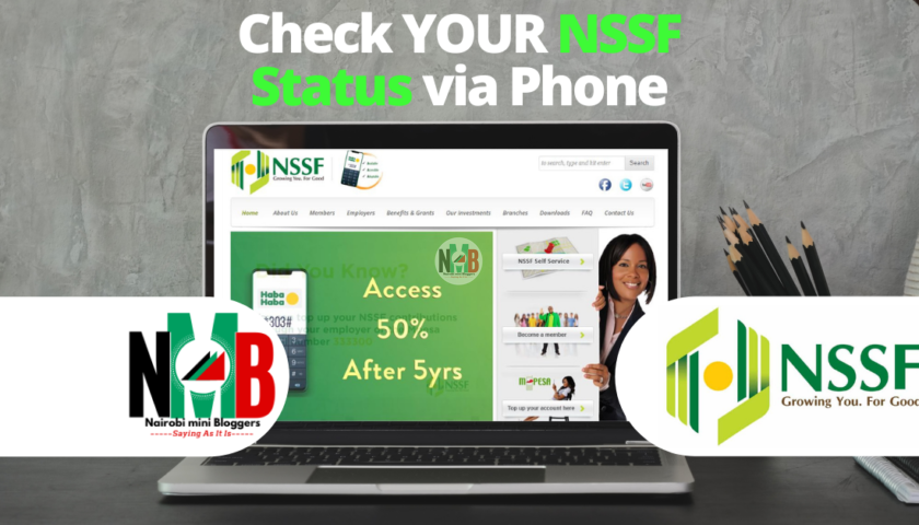 How to Check Your NSSF Status via Phone