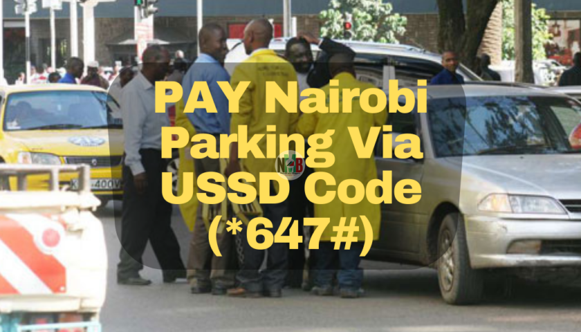 Pay For Nairobi Parking Via USSD Code (*647#)