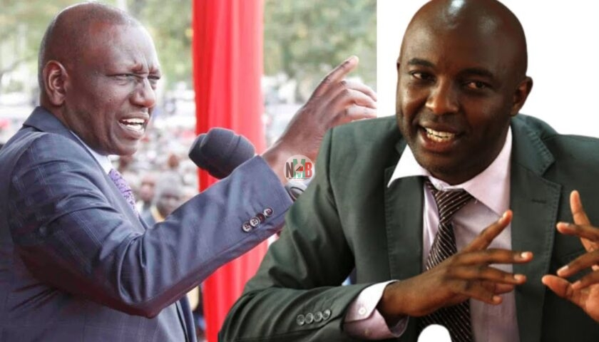 Irungu Kang'ata Officially Dumps Uhuru for Ruto, Says he was a Founder of Tanga Tanga