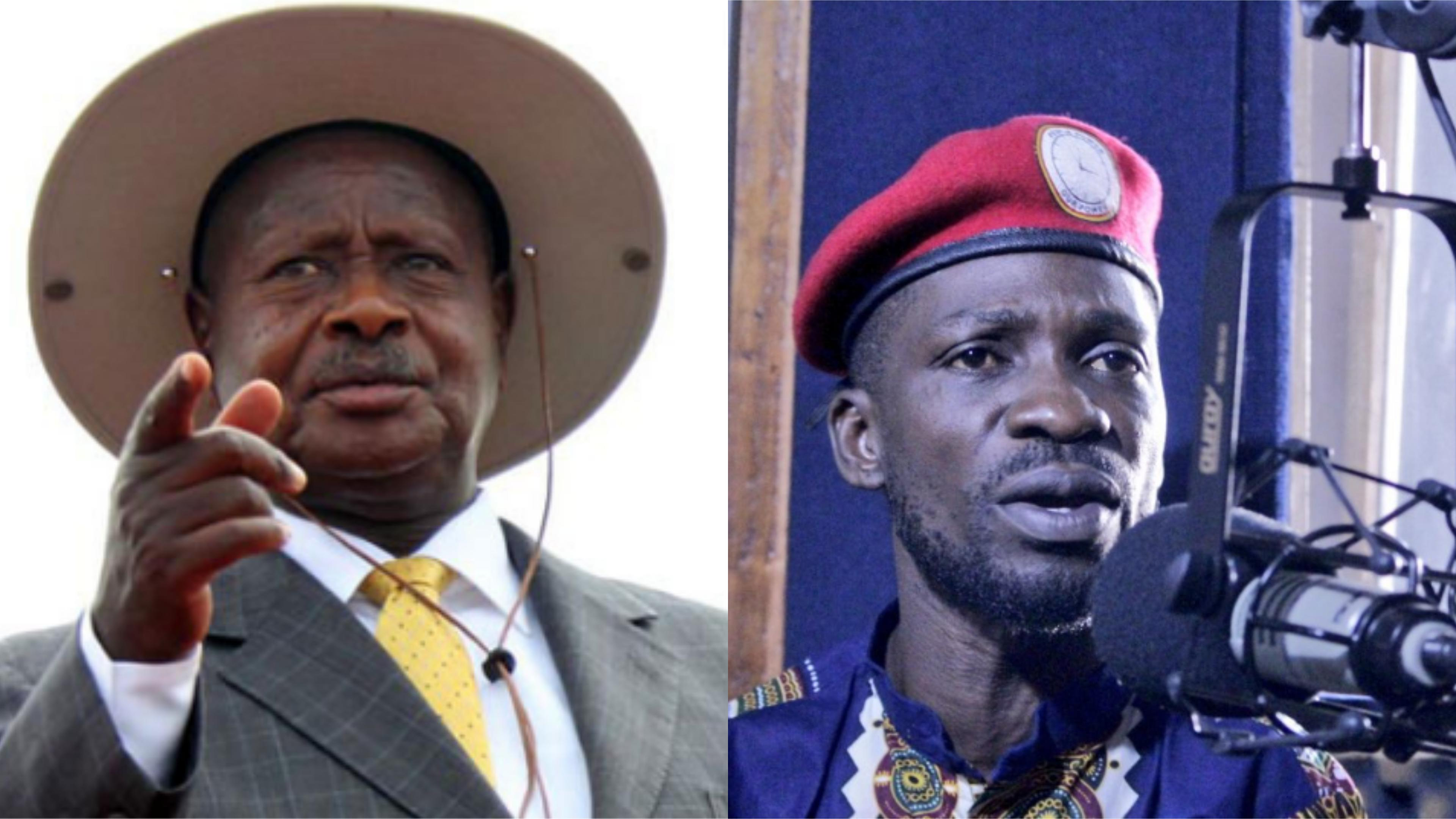 Bobi Wine's Clever Move To See Museveni Steps Down.